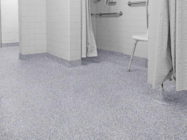 Waterproof Floor Coating   Public Restroom Epoxy Flooring