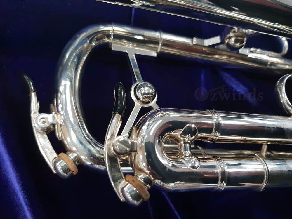 Schagerl Roman Empire B-flat Meister Trumpet - Silver Plated