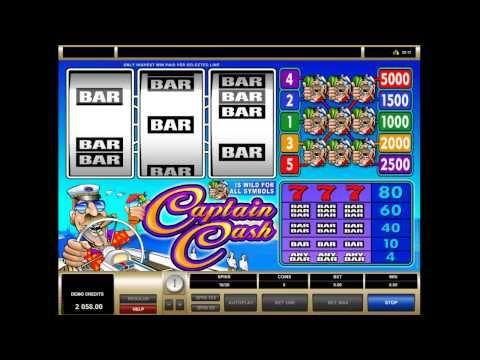 Captain Cash - http://freeslots.guru/captain-cash/