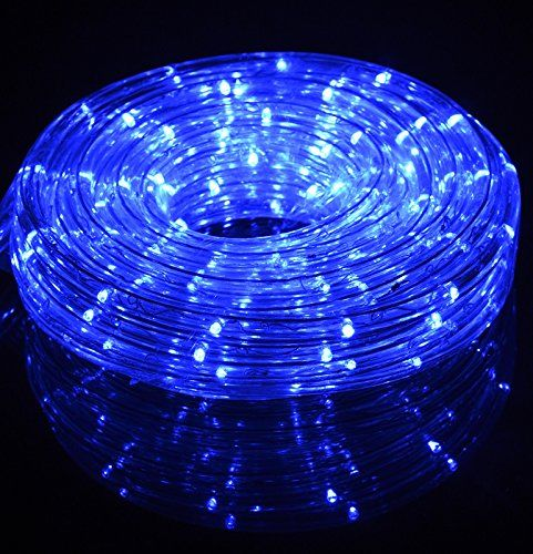 blue fairy led outdoor string rope light clear tube on sale now plug in string lights cheap on sale at bulk wholesale best prices
