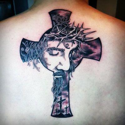 Jesus Cross Tattoo by hassified.deviantart.com on ...