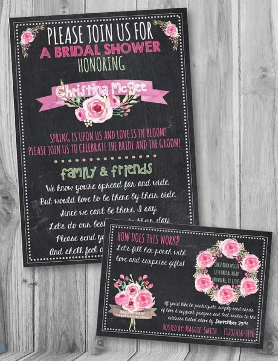 on sale long distance bridal shower spring by southernpaperdesigns