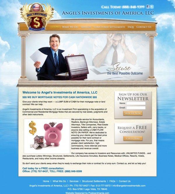 Mortgage Note Buyer Website Design Analysis u2014 Lago Vista, TX - mortgage note