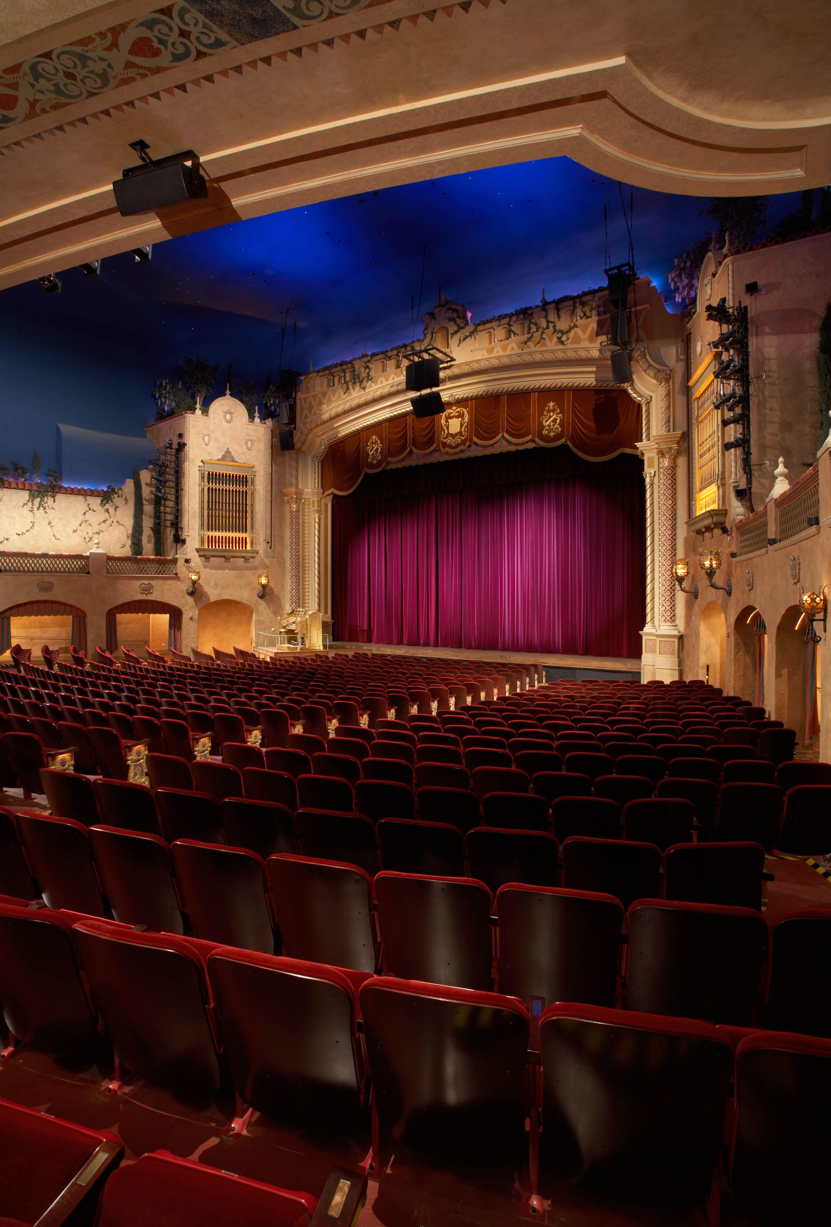 Plaza Theatre Performing Arts Center El Paso Tx Performance Art Performing Arts Center Auditorium Design
