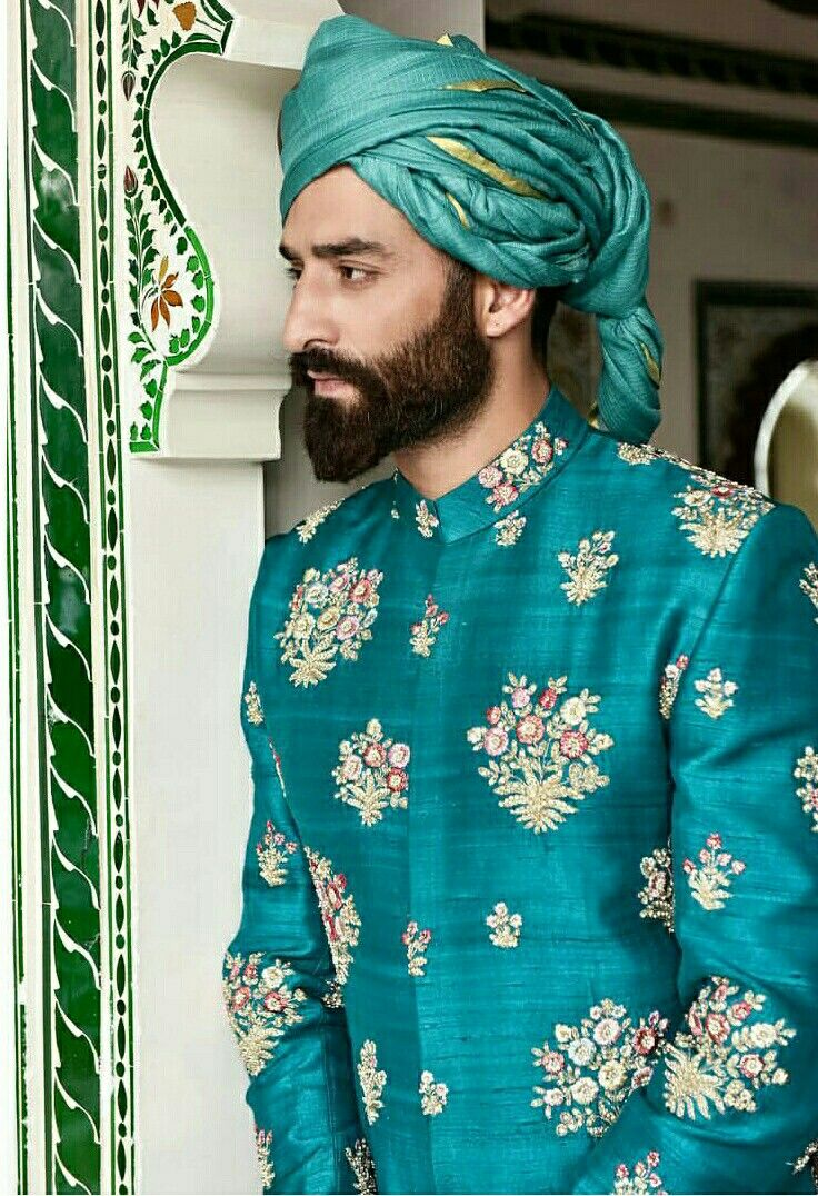 Colour | Things of interest | Pinterest | Sherwani, Indian groom ...