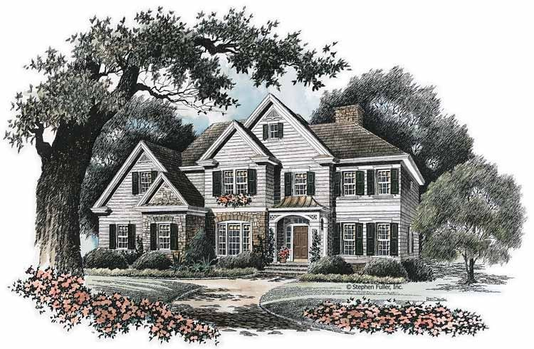 Eplans French Country House Plan Quiet Comfort 2935