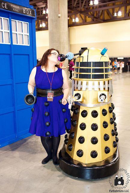 DJRL1913 by Wile E CJ on Flickr.  Dalek Friday!