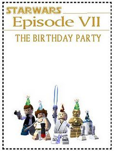 lego star wars party invitations printable free Google Search