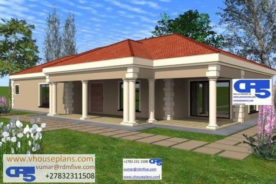 RDM5 House Plan No W1727 in 2020 Single storey house