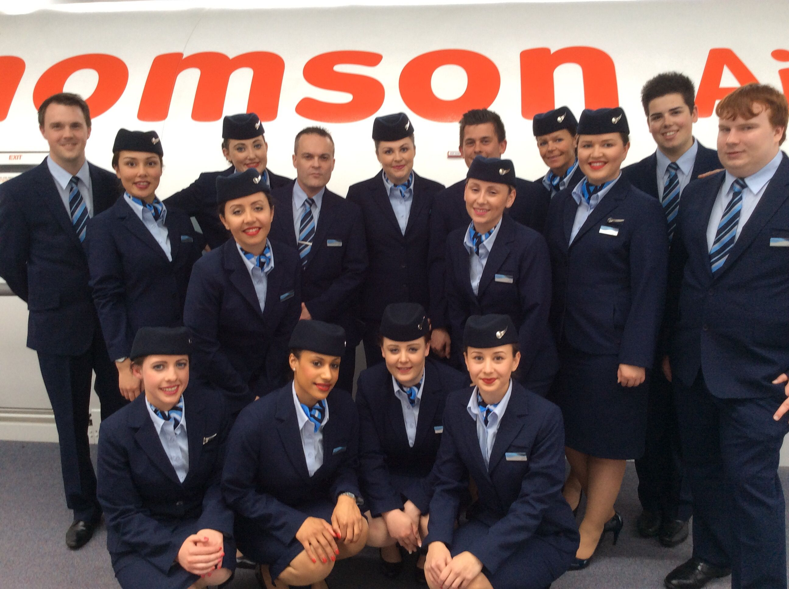 our new starters lgw cabin crew looking smart in