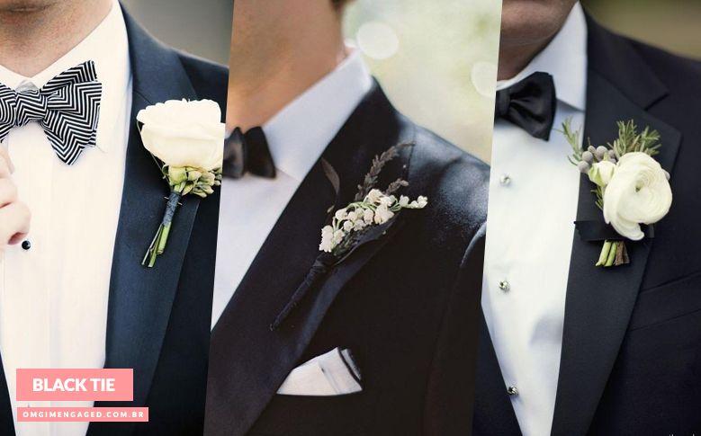 Blog OMG I'm Engaged - Flores de lapela para o traje do Noivo. Groom's suit.
