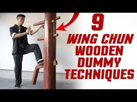 9 Wing Chun Dummy Training Techniques Youtube Wing Chun Wing