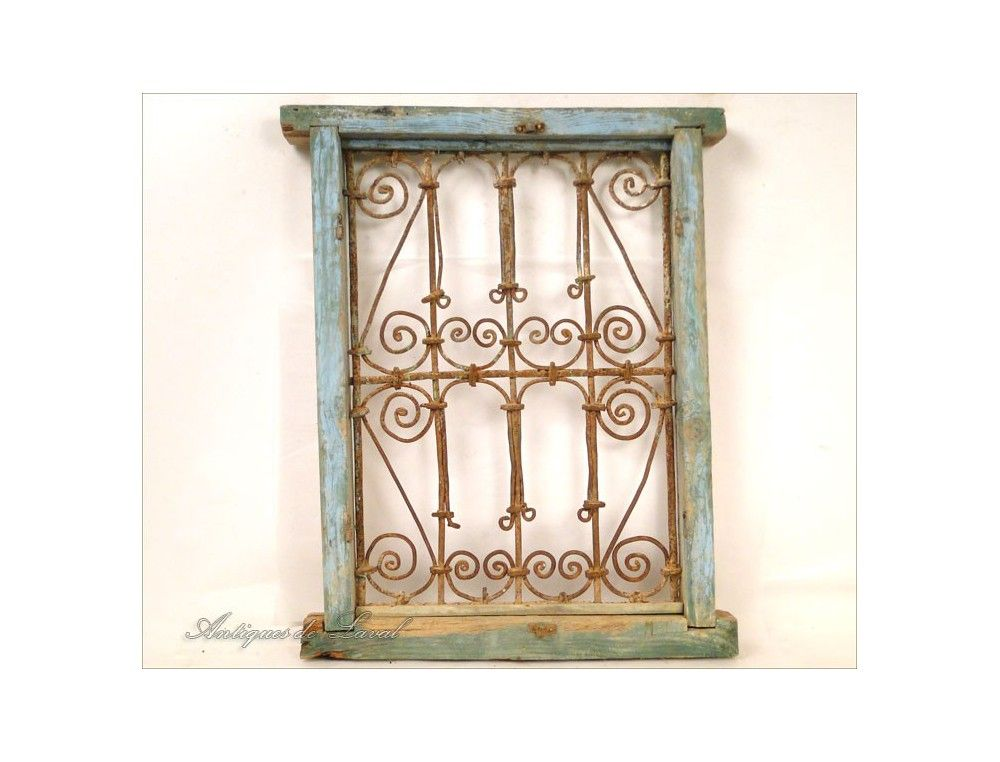 Moroccan Wrought Iron Window Grills 1