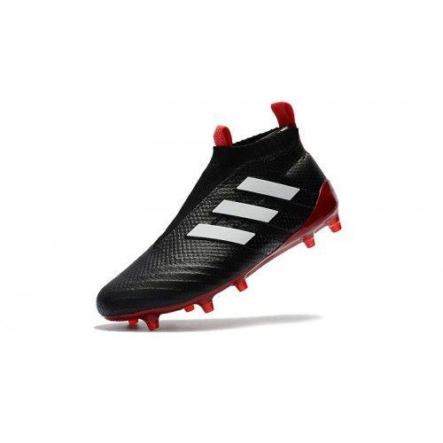 the best attitude 4658a ba4a7 Adidas ACE - Barato 2017 Adidas ACE 17 PureControl Negro Rojo Botas De  Futbol