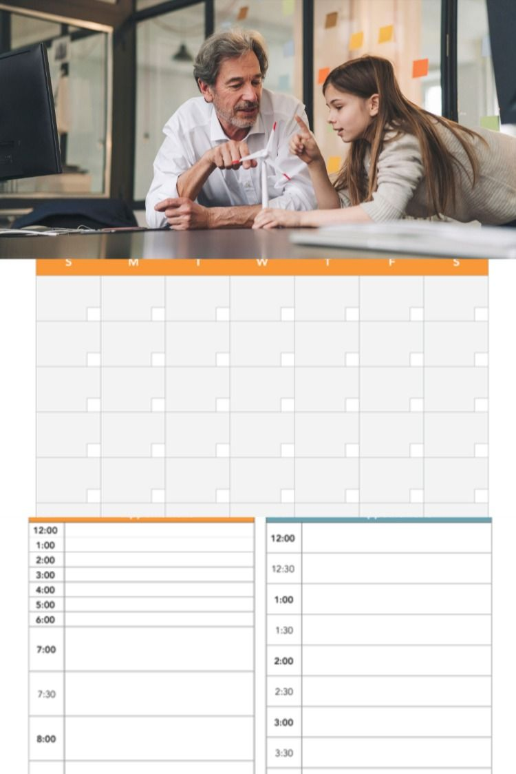 Printable Calendar Designed for Families in 2020 (With