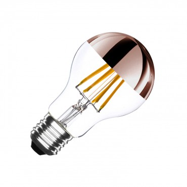 Bombilla Led E27 Regulable Filamento Copper Reflect Classic A60 6w Bombillas Led Bombillas Led