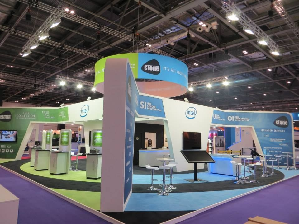 Exhibition Stand Builders London : Stone group at bett london excel driscoll brothers