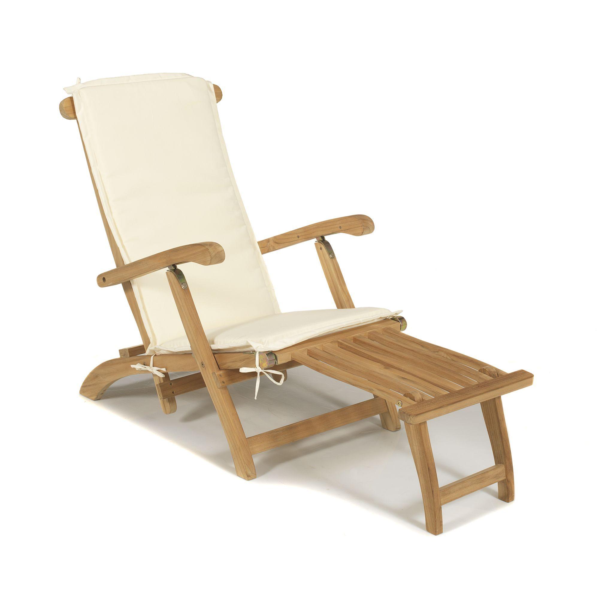 chaise longue avec repose pied et cousinage naturel josy les bains de soleil et transats. Black Bedroom Furniture Sets. Home Design Ideas