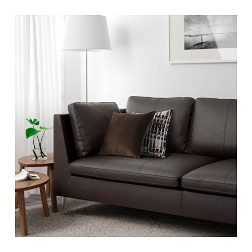 Elegant STOCKHOLM 3er Sofa   Seglora Dunkelbraun   IKEA