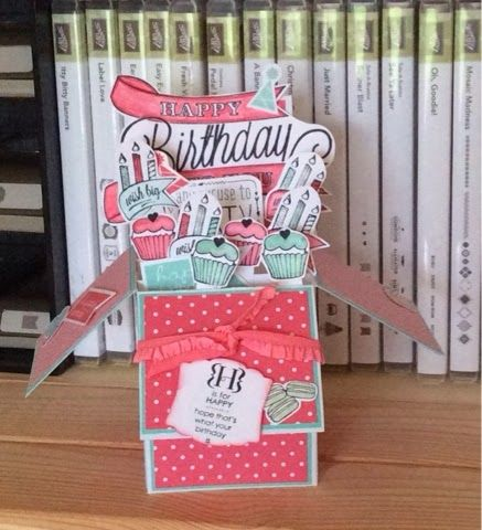 STAMPIN BELL - Lucie Bell Independant Stampin'Up! Demonstrator: Box cards - caution may be addictive !!!