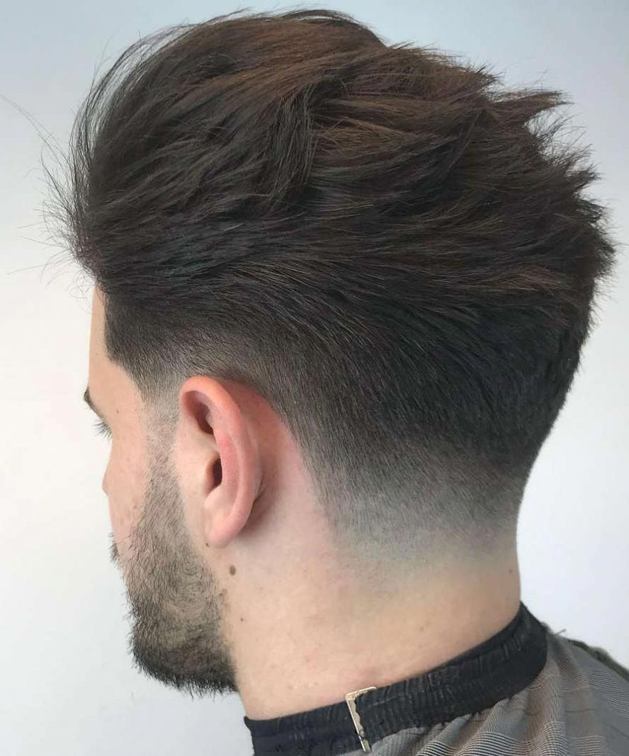 This is gorgeous.. #thickhairmenshairstyles  Tapered haircut