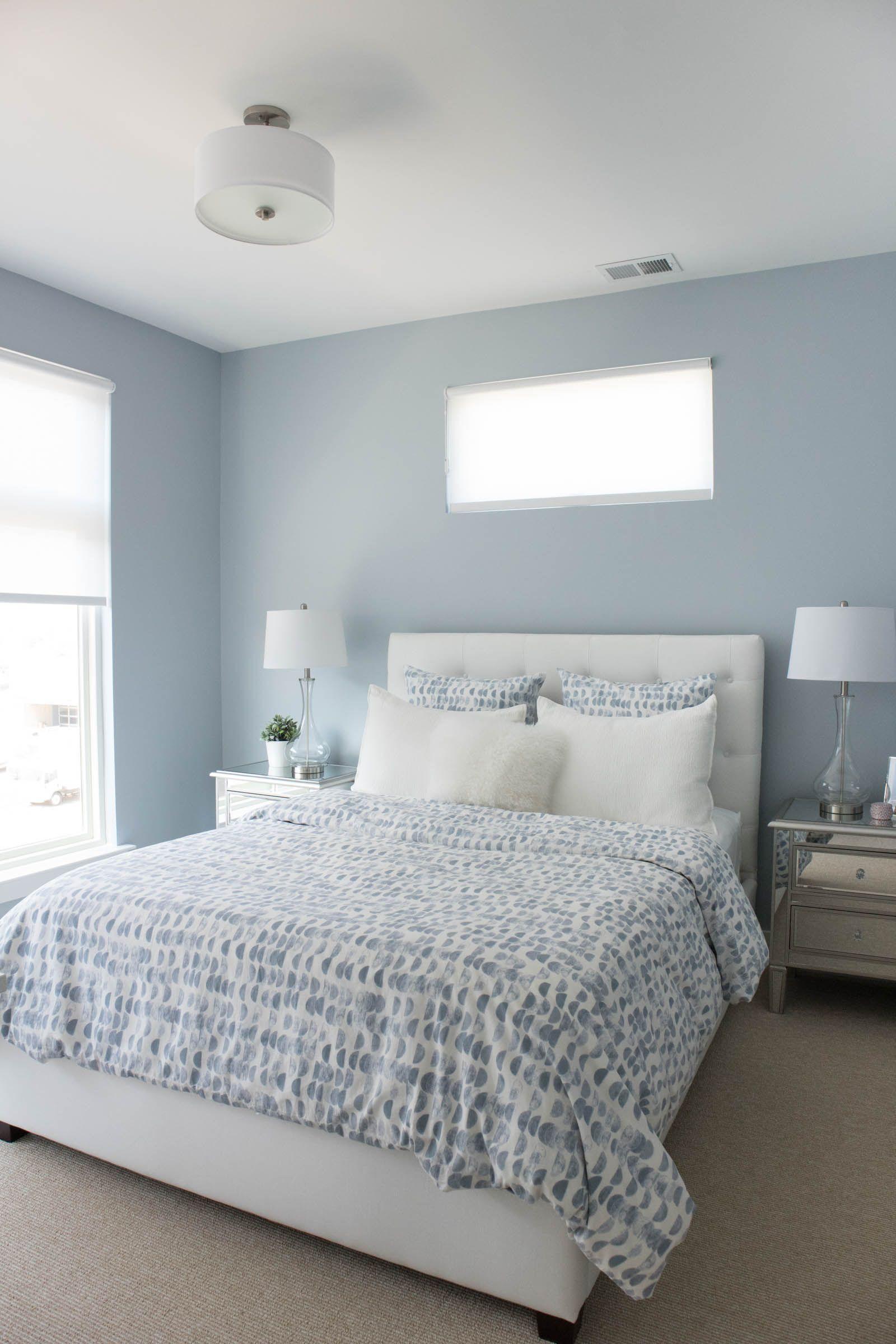 Best Home Tour Guest Bedroom Bath Blue Bedroom Decor 400 x 300