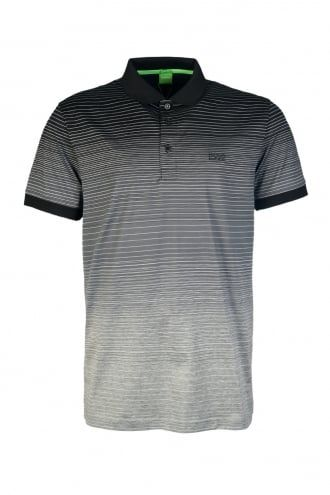 05cc52dd HUGO BOSS Stripe Polo T-shirt PADDY 3 50301944 - Boss Green from Sage  Clothing UK