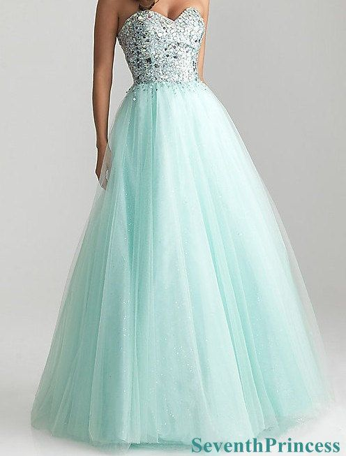 ball gown sweetheart floorlength tulle prom dress 2014