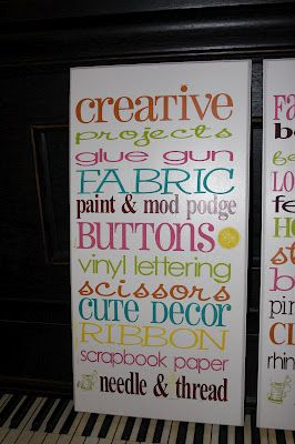 Lanier Household Creations Craft Room Signs Craft Room Signs Sewing Room Decor Dream Craft Room