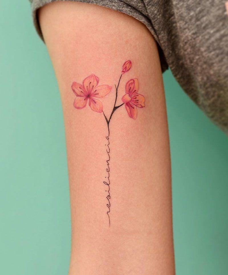117 Of The Very Best Flower Tattoos Tattoo Insider Tattoos For Women Flowers Foot Tattoos For Women Foot Tattoos