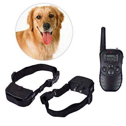 Practical Lcd 100lv Electric Shock Vibration Remote Pet Dog