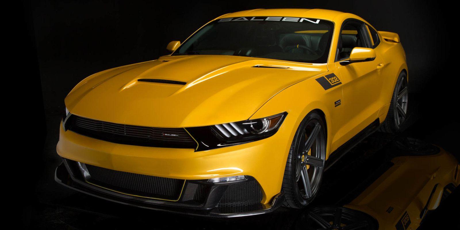 Saleen 302 Black Label Mustang Makes 730 Hp Costs 73k Saleen