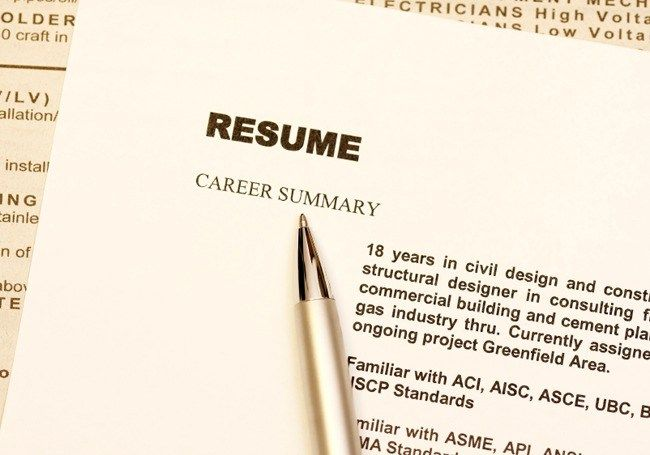 5 Things on Your Resume that Attract Recruiters in 6 Seconds How - resume start
