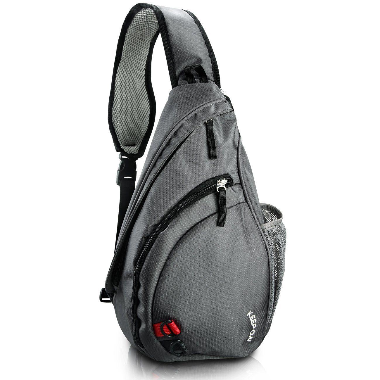 KEEPON Sling Bag Shoulder Bag Multipurpose Daypack Book Bag ...