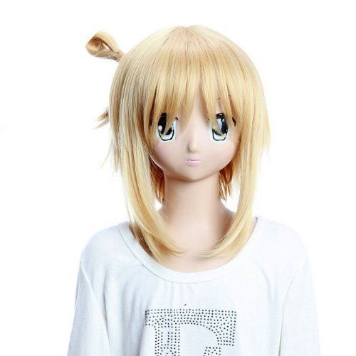 SureWells Nice wigs Hair wig Kore wa Zombie desu ka Golden Straight Lovely Cosplay Wigs Party Wigs Girl Costume Wigs by SureWells. $24.79. Material : High temperature wire; Hair Style: Cosplay Wigs; Package:1 PCS; Color : AS PICTURE ,Color Shown: (Color may vary by monitor.); Length :about 15.35 inch. Brand: SureWells Recommended features: 1. Super natural wig , suitable for almost every lady aged from teenagers to adults. 2. With the high technology, Miss Beauty wig serie...