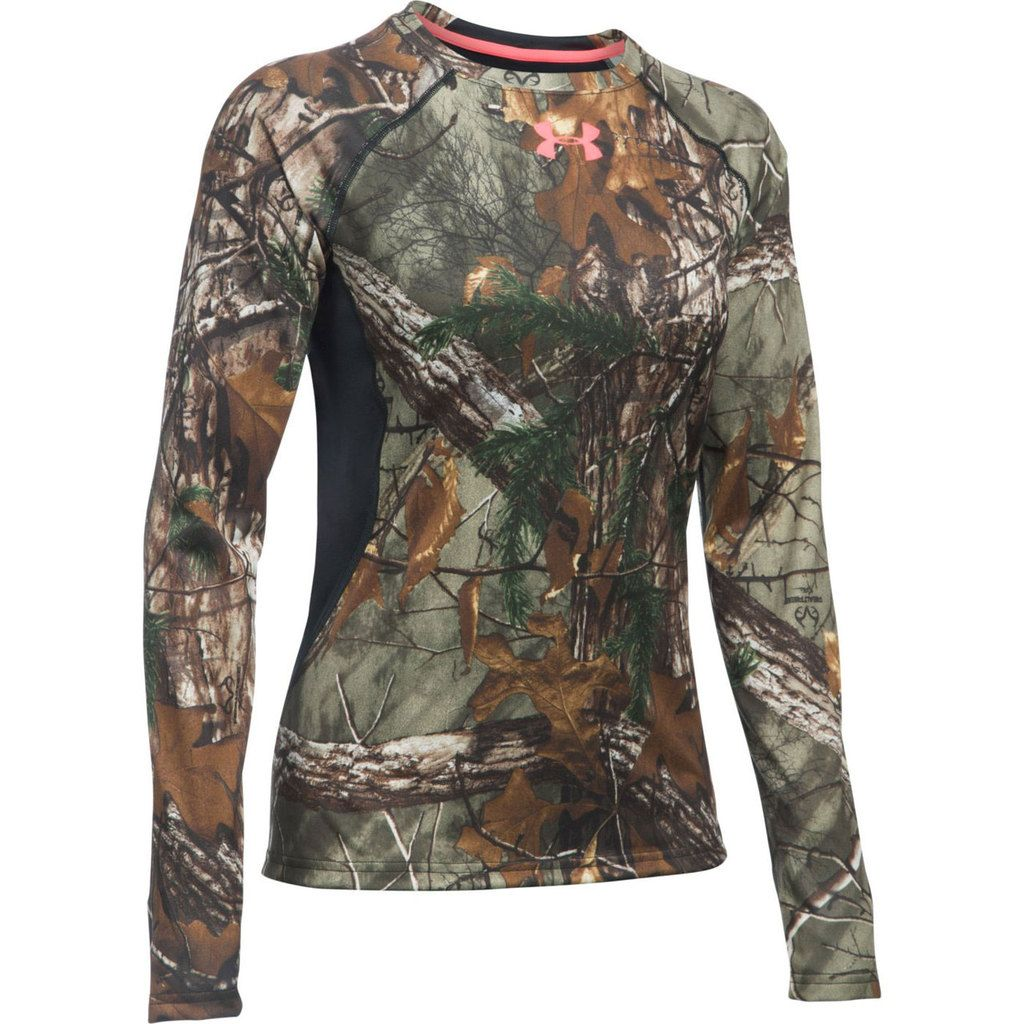 19df893d Under Armour Women's Xtra Scent Control Tech Long Sleeve Shirt Front Image