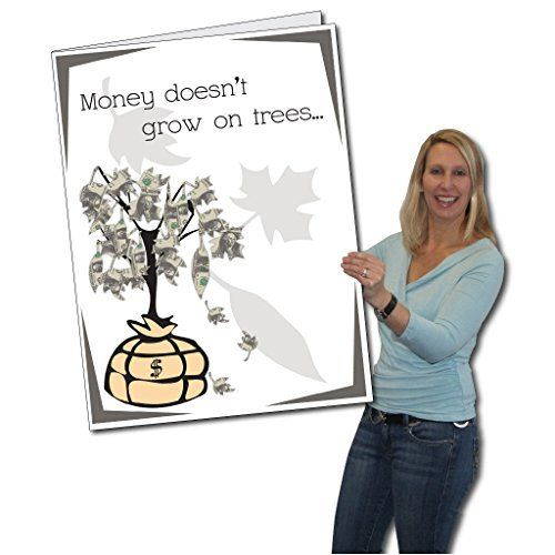 2 X3 Giant Birthday Card With Envelope Money Tree By Victorystore Http Www Amazon Com Dp B0711sm8h Birthday Cards Big Birthday Cards Birthday Money Gifts