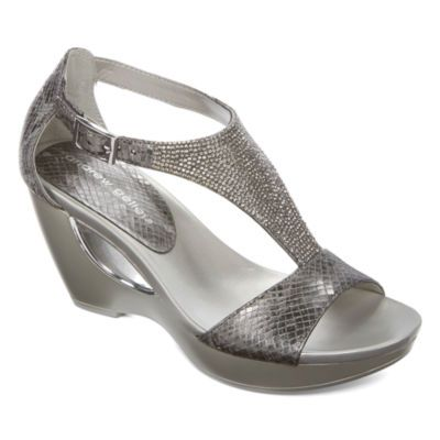 0391d0a50 Andrew Geller Arana Womens Wedge Sandals - JCPenney