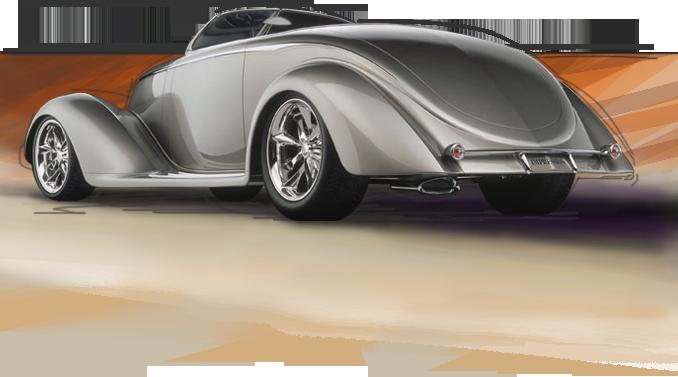 A Chip Foose Custom Build Cars Hotrod Chip Foose Foose Car Silhouette