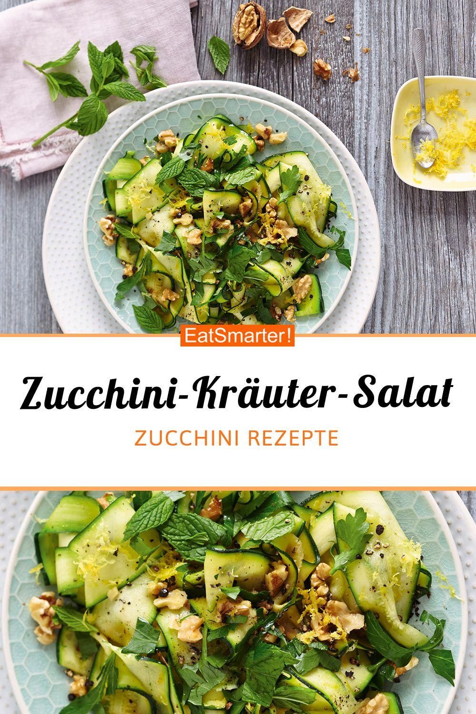 Zucchini-Kräuter-Salat mit Walnüssen – Carey&CleanEatingS