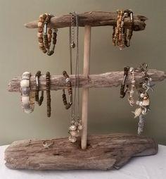 Photo of DIY Cute Driftwood Jewelry Driftwood Bracelet Holder Organizer by ShiverMyTimb …