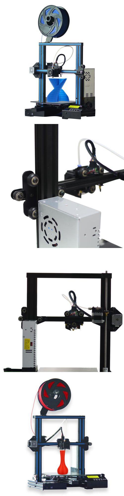 3D Printers and Supplies 183062: 3D Printer Geeetech A10 Aluminum