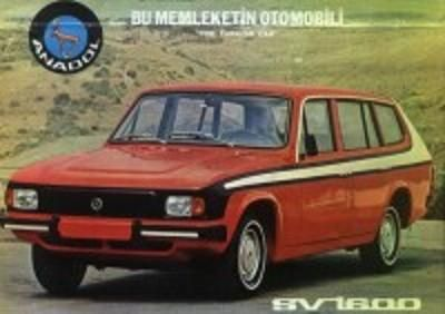 Anadol A5 Sv 1600 Klasik Arabalar Araba Super Araba