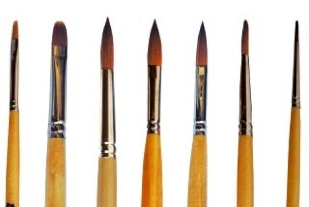 Diferencias Entre Pinceles Para Gel Y Acrílico Tu Rincón De Estética Pinceles Para Uñas Pinceles Uñas Decoradas