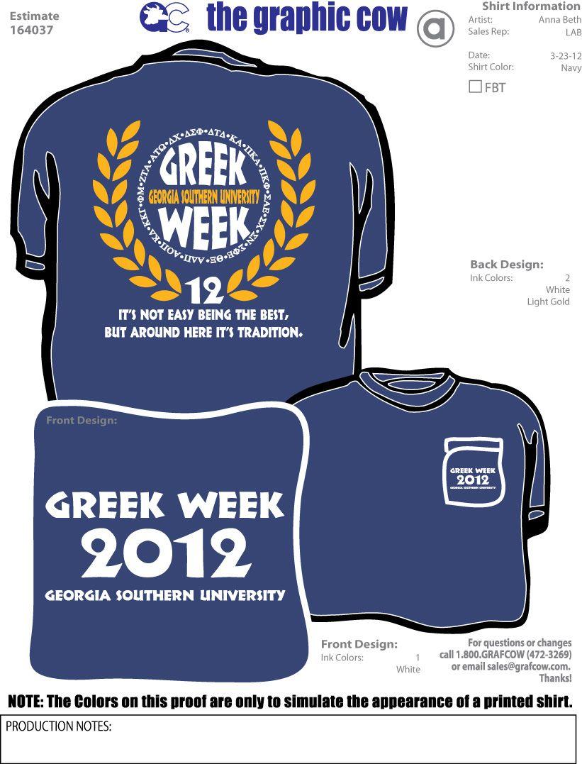 Greek Week Tshirts Google Search T Shirts Pinterest