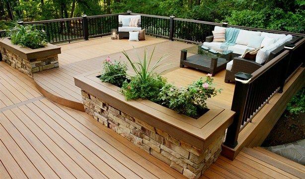 Deck Design Ideas 105   Outdoors   Pinterest   Deck design and Decking