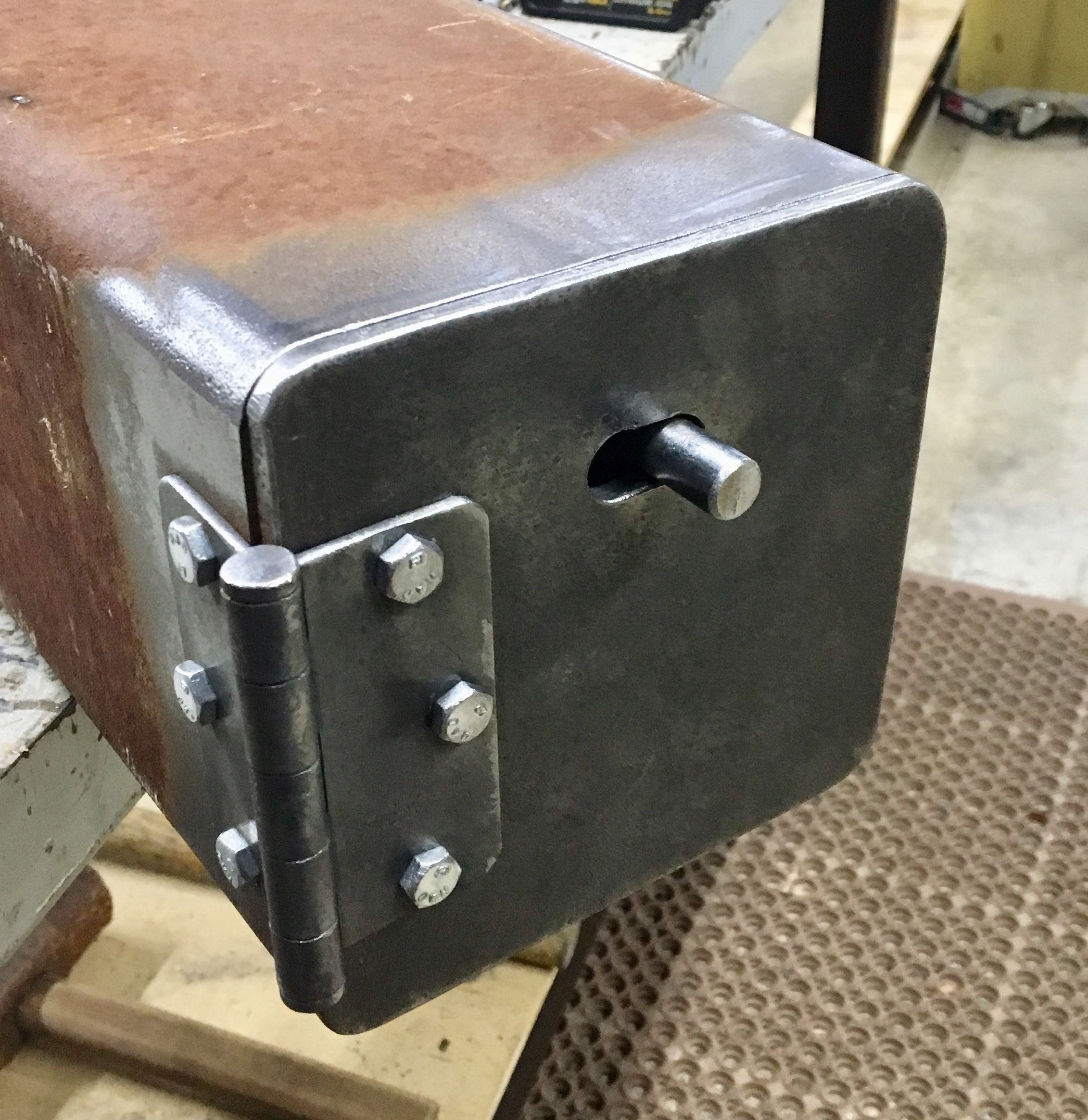 Door Latch Welding Projects Welding And Fabrication Metal Working Projects