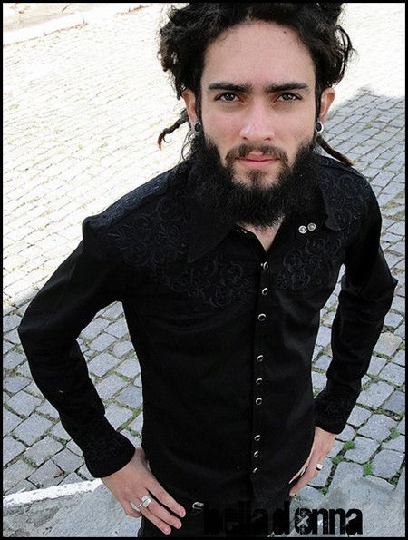 Camisa Man in Black