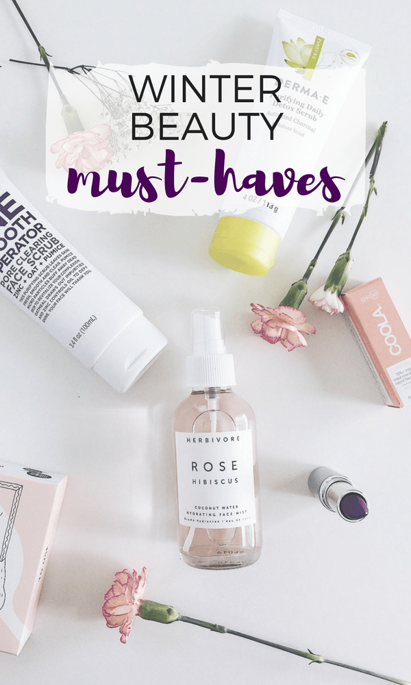 Beauty Must-Haves for Winter! From hydrating clay masks to moisturizing night creams to the prettiest statement hues, these are my picks for the Bath, Body, and Beauty Must-Haves for Winter 2017.