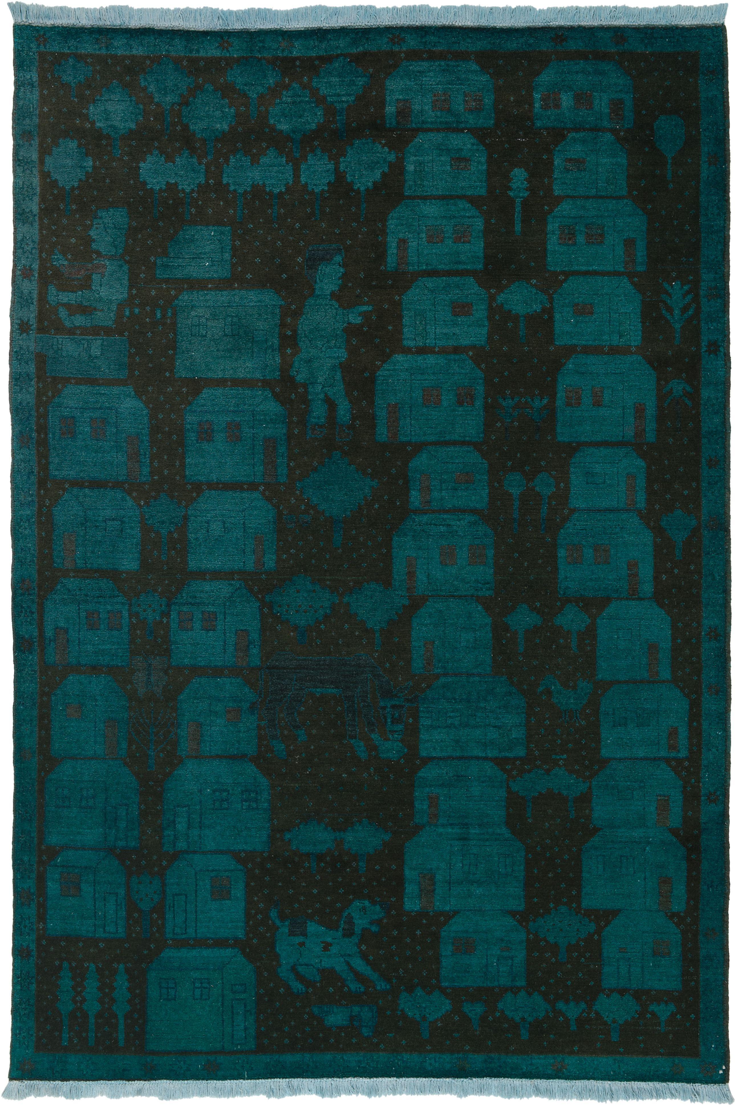 Blau (-er) Teppich by KISKAN PROCESS HAMBURG, Orientteppich ...